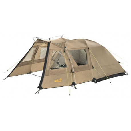 Палатка 2-х местная, кемпинговая, Jack Wolfskin Grand illusion II, в аренду