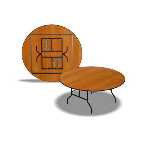 Стол раскладной, круглый, 1800x750