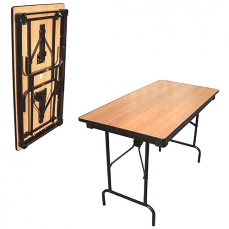 Стол раскладной, прямоугольный 1800x750мм, в аренду