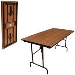 Стол раскладной, прямоугольный 1200x750мм