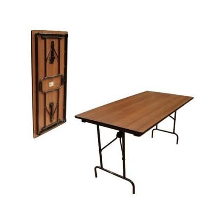 Стол раскладной, прямоугольный 1200x750мм, в аренду