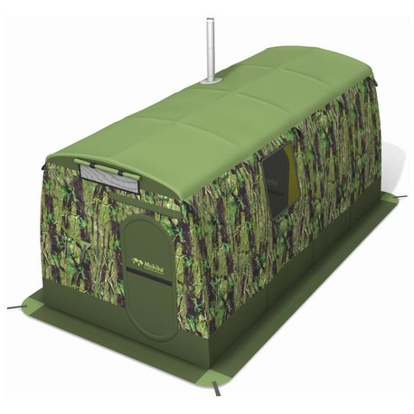 Зимняя палатка с каркасом повышенной прочности `Mobiba` МБ-4 в аренду