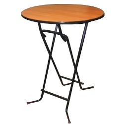 Стол коктейльный складной.