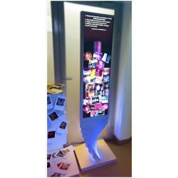 Вертикальный экран 1,8х0,4м