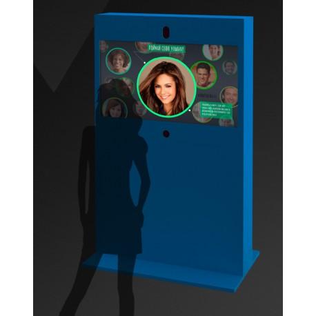 Интерактивный экран с камерой в аренду.