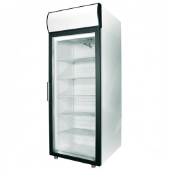Шкаф холодильный 500л, стеклянная дверь
